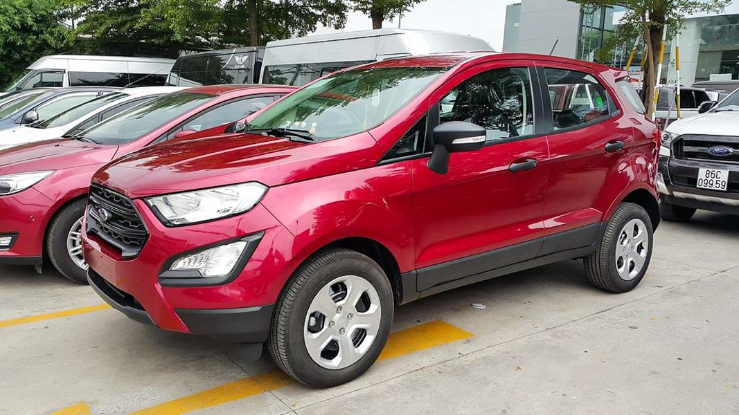 ford ecosport phien ban gia re ambiente 1.5 mt co gia ban chi 545 trieu dong hinh anh 1