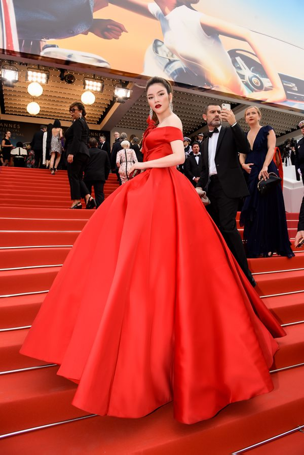 cannes 2018: vu ngoc anh dan di khoe 80% co the, co lan at ly nha ky? hinh anh 8