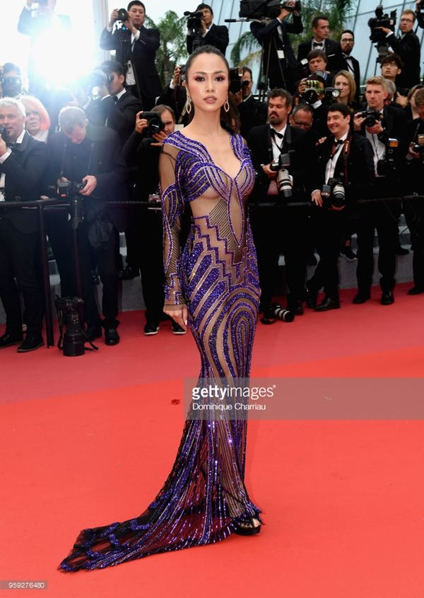 cannes 2018: vu ngoc anh dan di khoe 80% co the, co lan at ly nha ky? hinh anh 7