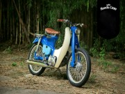 o to - Xe may - Me man 1960 Honda Super Cub dep nao long nguoi
