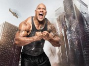"Video - anh - Cu nhay thot tim cua ""The Rock"" giua bien lua tren toa thap 240 tang"