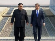 The gioi - Thong tin tu cuoc gap khan giua Kim Jong-un va Tong thong HQ