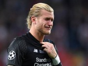 "Bong da - ""Bieu"" Real Madrid 2 ban, ""toi do"" Karius co bi dieu tra ban do?"