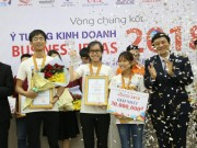 Chung ket cuoc thi Business Ideas 2018