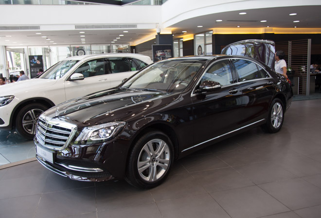 chi tiet mercedes-benz s450l 2018 hoan toan moi voi gia ban hon 4,2 ty dong hinh anh 1