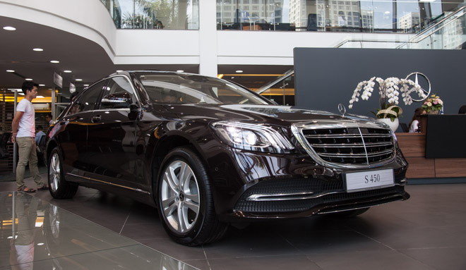 chi tiet mercedes-benz s450l 2018 hoan toan moi voi gia ban hon 4,2 ty dong hinh anh 2