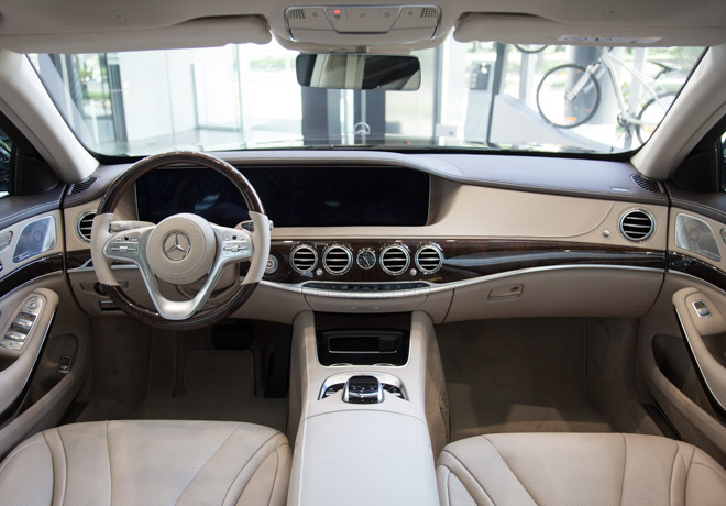 chi tiet mercedes-benz s450l 2018 hoan toan moi voi gia ban hon 4,2 ty dong hinh anh 8