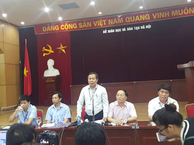 nghi van lo de thi van lop 10: so gd-dt ha noi noi gi? hinh anh 1