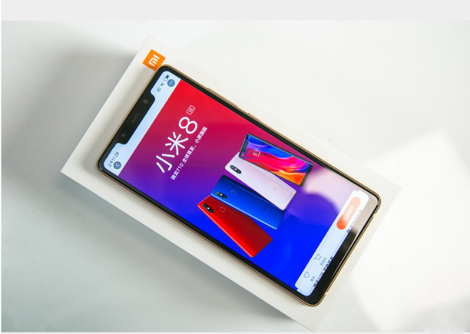 anh thuc te smartphone chay snapdragon 710 dau tien tren the gioi hinh anh 1