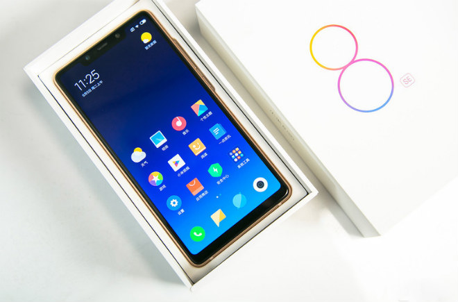 anh thuc te smartphone chay snapdragon 710 dau tien tren the gioi hinh anh 2