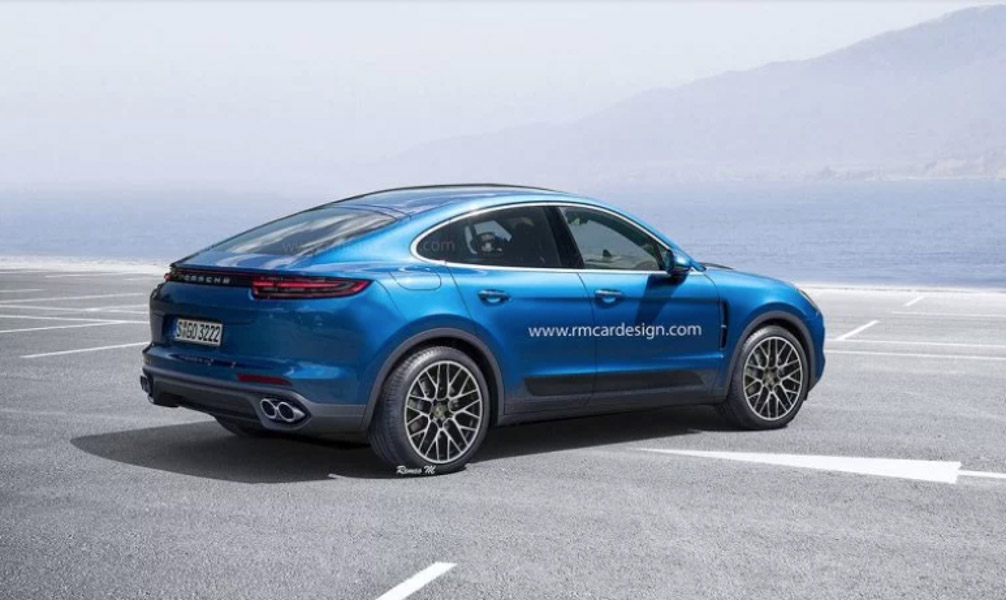 porsche se san xuat cayenne coupe canh tranh voi bmw x6 hinh anh 3