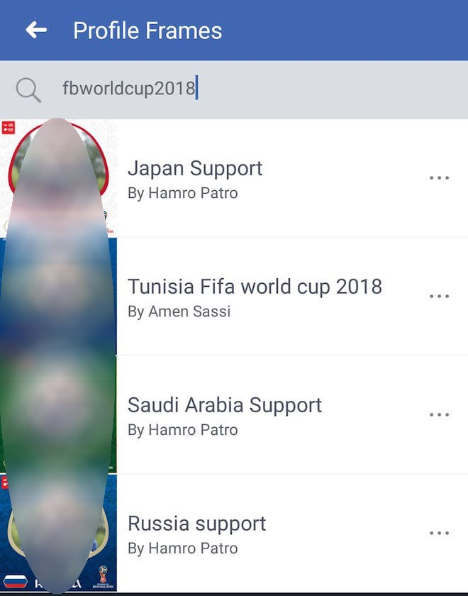 thu thuat facebook: cach thay anh dai dien don world cup 2018 hinh anh 3