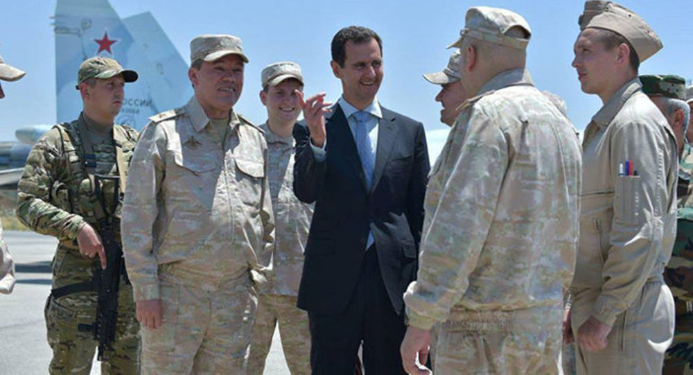 assad tiet lo su that ve can thiep cua nga o syria hinh anh 1