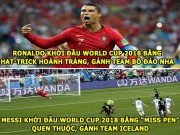 anh - Video - aNH CHe WORLD CUP (18.6): Messi bao hai Argentina, Neymar duoc mi tom tai tro