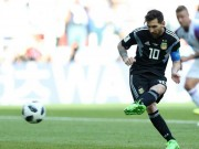 World Cup - Bo truong Quoc phong Isreal he lo ly do Messi... da hong penalty