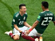 World Cup - Sut tung luoi dT duc, Lozano gay nen... dong dat tai Mexico