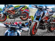 o to - Xe may - KTM Duke 390 do mau bac ruc ro cua Elixir Prince
