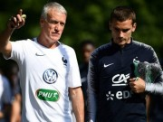 "HLV Deschamps doa ""tram"" Griezmann, Chelsea sap don HLV moi"
