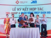 "TMS Group ""bat tay"" MB Bank don song thi truong Vinh Phuc"