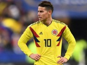 The thao - dai chien Colombia vs Nhat Ban: James Rodriguez vang mat?