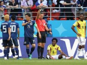 The thao - Tuyen thu Colombia nhan the do nhanh thu 2 o World Cup