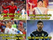The thao - aNH CHe WORLD CUP: Ronaldo lam phien Messi, Pepe mong manh