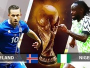 "The thao - Phan tich ty le Iceland vs Nigeria (22h): ""dai bang xanh"" kho cat canh"