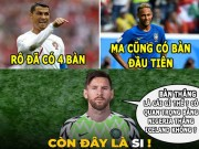 The thao - aNH CHe WORLD CUP (23.6): Messi khong them ban thang, Nigeria canh bao Argentina