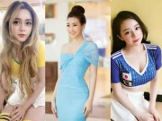 do My Linh va dan hot girl thuc cung... World Cup 2018