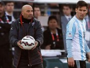 "World Cup - dT Argentina: Messi va dong doi ""dao chinh"", tu sap doi hinh ra san?"