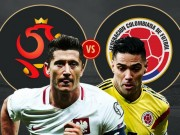 World Cup - Nhan dinh ty le phat goc Ba Lan vs Colombia (1h00, 25.6)