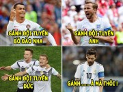 "The thao - aNH CHe WORLD CUP (25.6): Messi thanh ""ta"" cua Argentina, Kane ""len dong"""