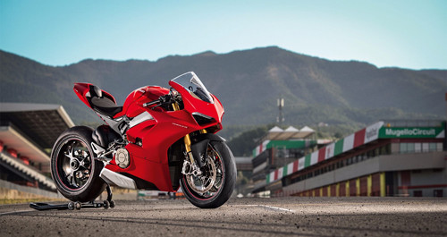 sieu xe ducati panigale v4 gia nhap luc luong canh sat anh hinh anh 1