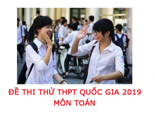 de thi thu thpt quoc gia 2019 mon anh cua bo gddt hinh anh 1