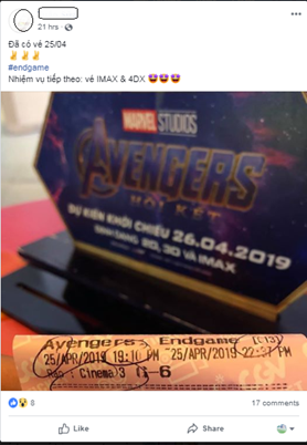 avengers lap ky luc 200.000 ve ban truoc tai viet nam trong 24 gio hinh anh 1