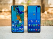 Samsung Galaxy S10+ vuot mat Huawei P30 Pro ve toc do
