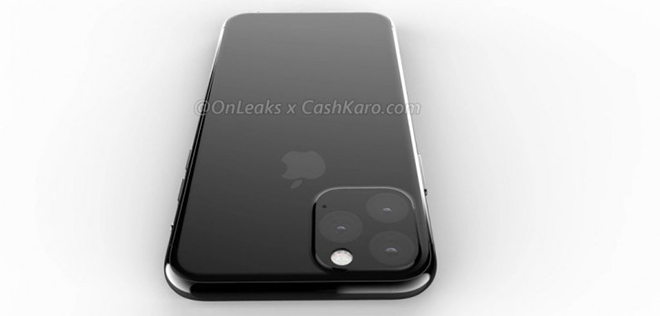 iphone 11 chinh thuc lo anh mo hinh cad voi camera loi dien ro hinh anh 1