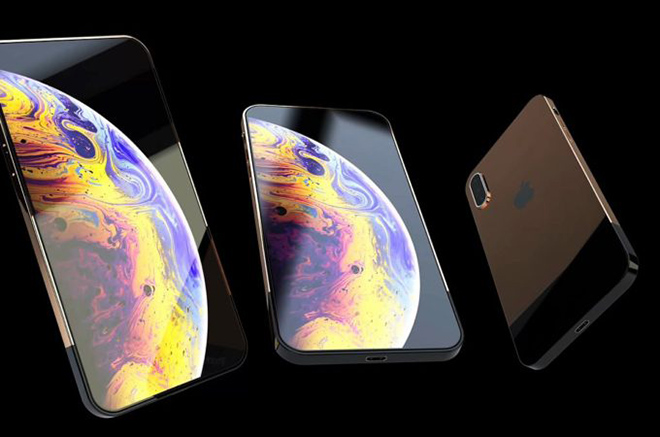 y tuong iphone 11 slide voi camera selfie truot dep mien che hinh anh 1