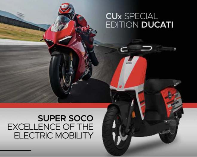 ducati tiet lo xe dien cux special edition ducati: hoa quyen phong cach au - a hinh anh 1