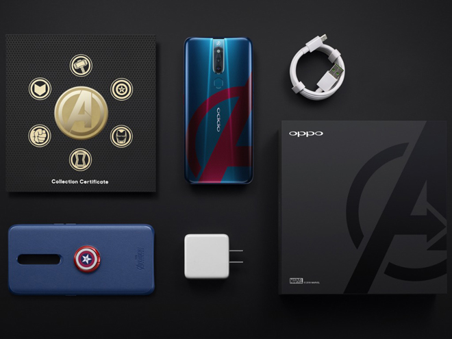 tren tay oppo f11 pro avengers edition danh cho fan sieu anh hung hinh anh 1