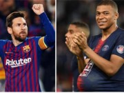 "The thao - Con nuoc con tat, Mbappe doa ""cuop"" Chiec Giay Vang cua Messi"
