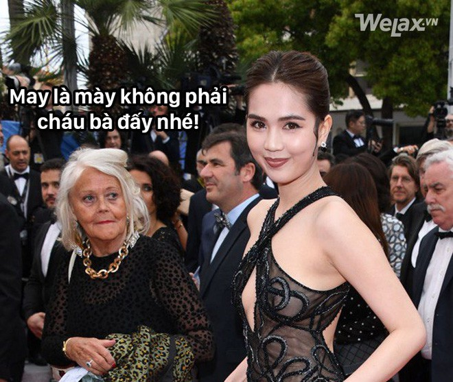 "den ngoc trinh cung phai ""cuoi ngat"" vi loat anh che khi du cannes hinh anh 10"