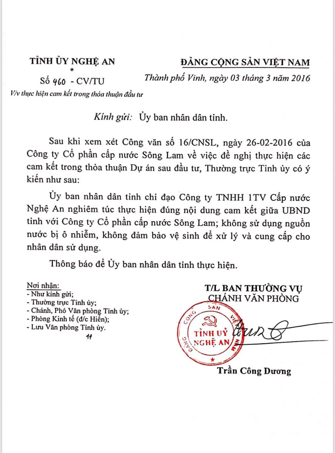 cong ty nuoc nghe an len lut hut nuoc tu song dao o nhiem? hinh anh 2