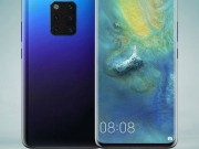 day chinh la mat truoc Huawei Mate 30 Pro hay chi la y tuong?