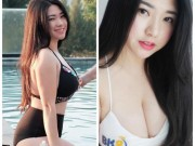 Clip: Hot girl Malaysia gay soc voi vong 1  & quot;khung & quot; hon Elly Tran