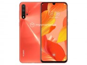 Huawei nova 5 co camera selfie 32 MP giot nuoc thay vi duc lo