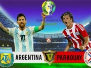 The thao - Soi keo, ty le cuoc Argentina vs Paraguay: Khong con duong lui