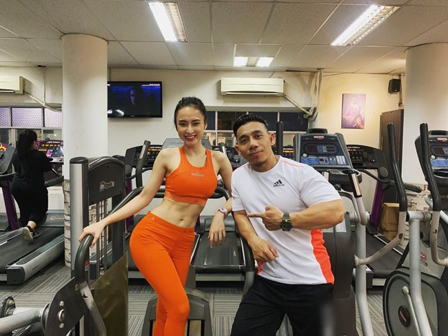 """le roi va loat sao viet nghien gym """"gay sot"""" voi hinh anh khoe co bap hinh anh 11"""