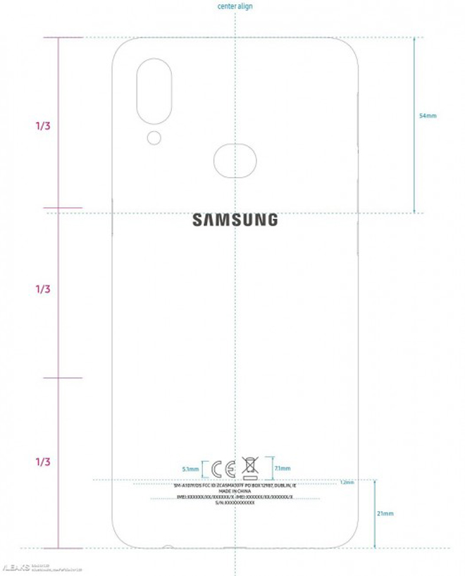 galaxy a10s - chiec smartphone gia re nhat dong a da lo dien hinh anh 2