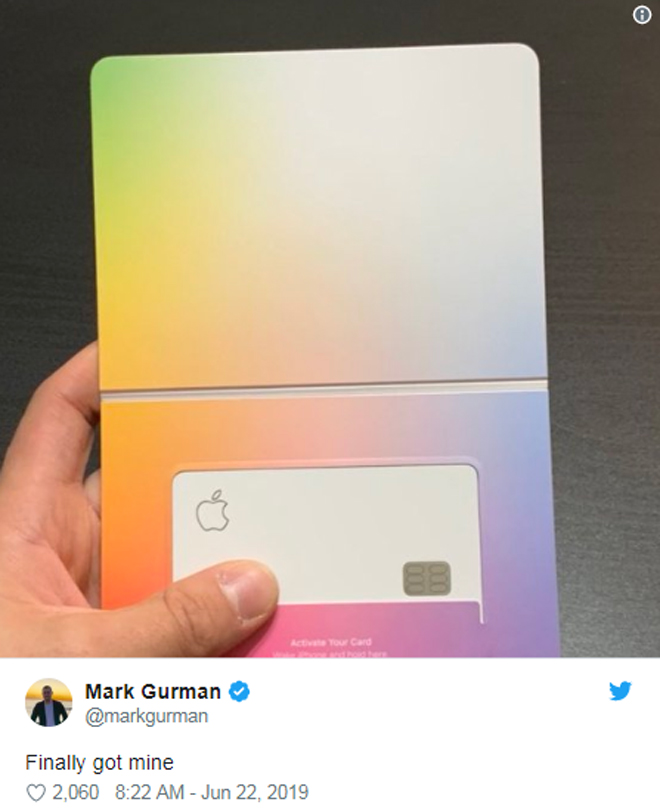 nong: hinh anh dau tien ve the dien tu apple card hinh anh 1